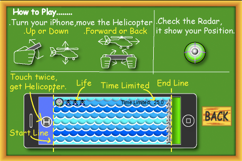 Screenshot Just Helicopter Free